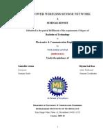 Low Power Wireless Sensor Network--document