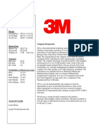 3m innovation strategy case study Case study of innovation at 3m introduction creativity & innovation is important for enterprises i creative innovation in 3m—-a case study.