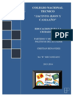 Partidos y Movimientos Políticos de Ecuador