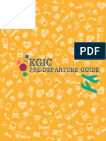 KGIC Pre Departure Guide English