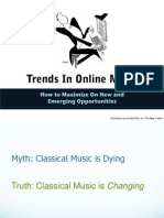 Trends in Online Music - Presentation