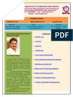Vaagdevi-Engineering-College-News-Letter-Volume VII-No 1-Vaagdevi Engineering College Proddatur Best Engineering College AP 360 Magazine-1