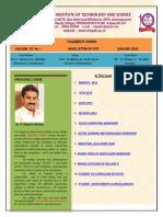 Vaagdevi-Engineering-College-News-Letter-Volume VII-No 1-Vaagdevi Engineering College Proddatur Best Engineering College AP 360 Magazine-1