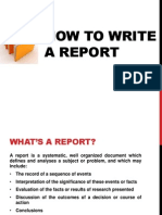 Clase2 How to Write a Report