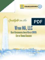 City of Boston Comments on Wynn DEIR