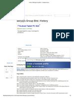 History of Berjaya Group Bhd