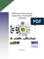 Documento Lineamientos de Planeacion_abril 2009
