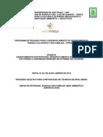 Edital PPDARAF_Agroeco_NívelMédio_2014