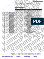 Daftar CPNS K2 Prov. Kalimantan Selatan