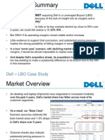 LBO DELL Presentation Case Study