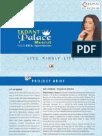 Ekdant Palace Meerut Brochure