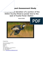 Bird Impact Assessment Study