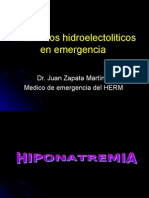 hyponatremia 10 de noviembre 2008