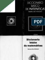 Diaz Vazquez Mariano - Diccionario Basico de Matematicas