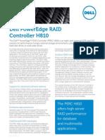 Dell Perc h810 Spec Sheet
