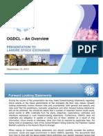 Presentation of OGDCL