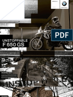 BMW F 650 GS user guide