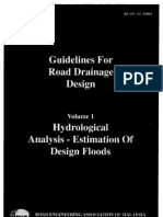 Guideline for Road Drainage Design