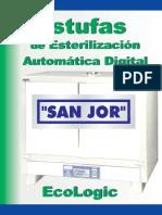 Catalogo Estufas de Esterilizacion EcoLogic V02 SAN JOR Espanol