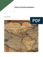 Il Nuovo Mondo e La Castastrofe Demografica