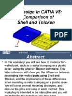 Shell vs Thicken