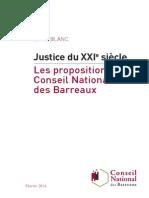 Livre blanc du CNB sur la justice du 21ème siècle