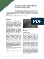 Carguío de Materiales Pesados (Open Pit)- 2013