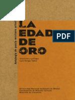 Luis Felipe Fabre - La edad de oro. Antología de poesía actual