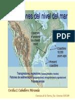 Variaciones en el Nivel del Mar