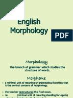 Lesson 9 Morphology