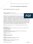 Cloudcomputing Implication
