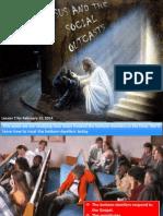 1st Quarter 2014 Lesson 7 Jesus and the Social Outcast