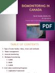 Biological Monitoring in Canada