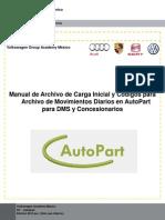 Manual de Codigos de Movimientos AutoPart DMS y Concesionarios 1-21 10 2013