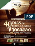 40Devocionais 2012