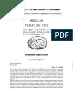 1. Carlos a Carrillo - Articulos Pedagogicos