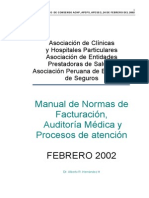 Manual de Normas de Facturación SEPS 24Feb2002