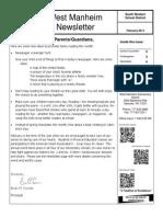 WM February 14 Newsletter