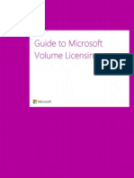 Microsoft Volume Licensing Reference Guide (1)
