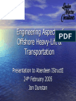 Engineering Aspects of
