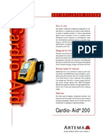 Brochure Cardio-Aid 200