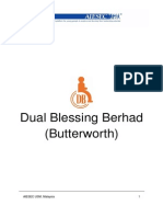 Dual Blessing Bhd. (Butterworth) TN Booklet (LC USM, Malaysia)