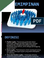7. Kepemimpinan & Komunikasi (pengantar manajemen)