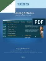 Installation Guide IceMegaMenu