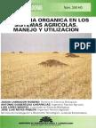 la materia orgánica en sistemas agrícolas