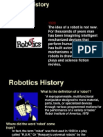 Robotic History