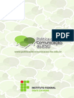 Politica Comunicacao IFSC Edicao1