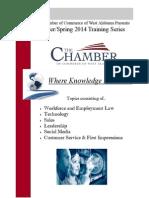 Chamber Training 2014