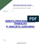A - Resumo - Direito Trabalho - Apostila TRT - Processo