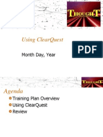 Using ClearQuest v1